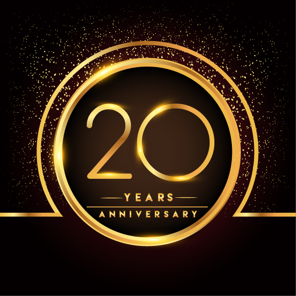 20th Anniversary business